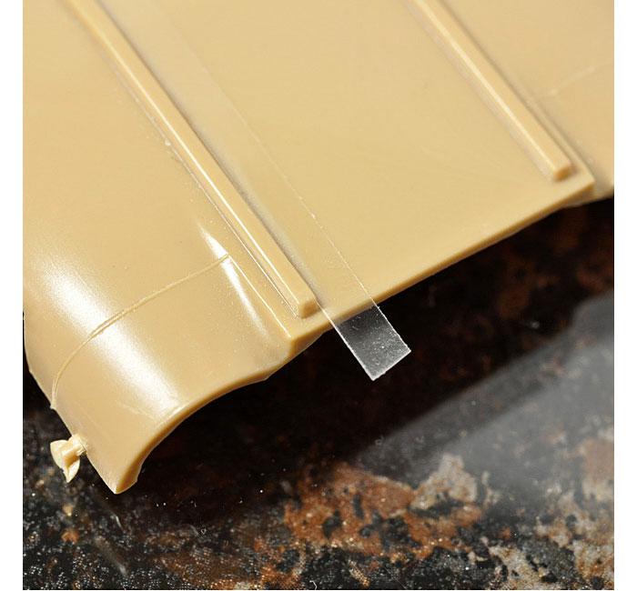 スジボリ用 ガイドテープ (3mm幅)粘着テープ(HIQパーツスジボリ・工作No.CGT-3MM)商品画像_2
