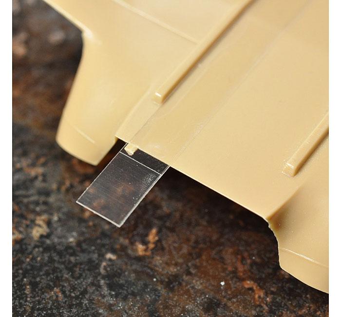 スジボリ用 ガイドテープ (6mm幅)粘着テープ(HIQパーツスジボリ・工作No.CGT-6MM)商品画像_2