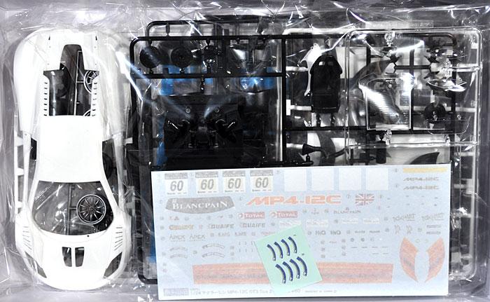 マクラーレン MP4-12C GT3 スパ24hレース #60プラモデル(フジミ1/24 リアルスポーツカー シリーズNo.旧074)商品画像_1