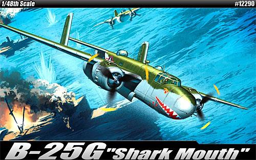 B-25G ミッチェル シャークマウスプラモデル(アカデミー1/48 Scale AircraftsNo.12290)商品画像