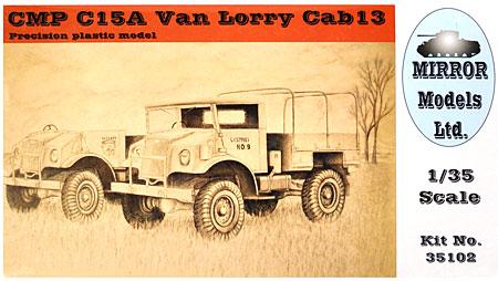 CMP C15A シボレー トラック Cab.13プラモデル(ミラーモデルズ1/35 AFVモデルNo.35102)商品画像