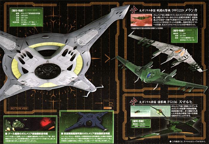 ポルメリア級 強襲航宙母艦プラモデル(バンダイ宇宙戦艦ヤマト 2199No.0182326)商品画像_2