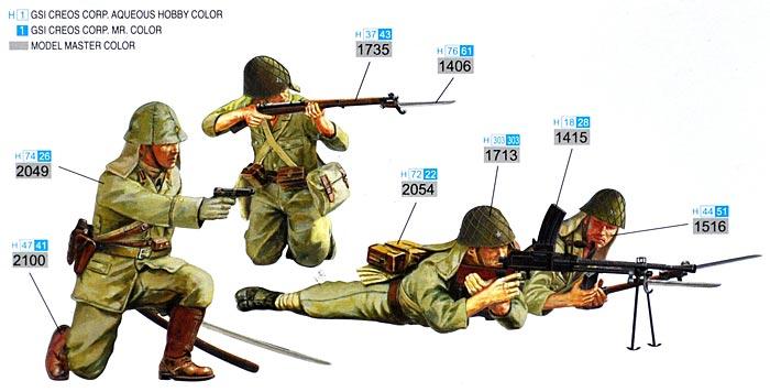 日本陸軍歩兵 (ペリリュー 1944年)プラモデル(サイバーホビー1/35 AFV シリーズ ('39~'45 シリーズ)No.6555)商品画像_2