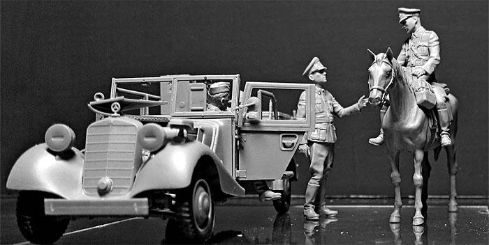 ドイツ 軍用小型無線通信車 Sd.Kfz.2 170VK w/クループラモデル(マスターボックス1/35 ミリタリーミニチュアNo.MB35151)商品画像_2