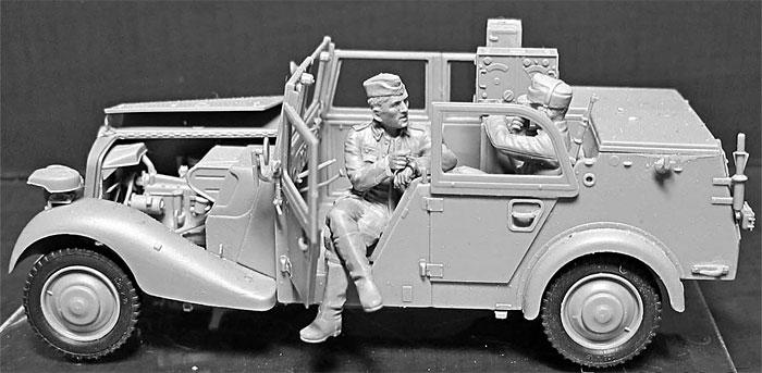 ドイツ 軍用小型無線通信車 Sd.Kfz.2 170VK w/クループラモデル(マスターボックス1/35 ミリタリーミニチュアNo.MB35151)商品画像_4