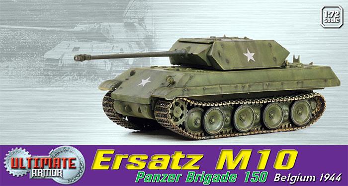 ドイツ M10パンター (偽装戦車) 第150装甲旅団 ベルギー 1944完成品(ドラゴン1/72 アルティメットアーマー (ULTIMATE ARMOR)No.60649)商品画像_1