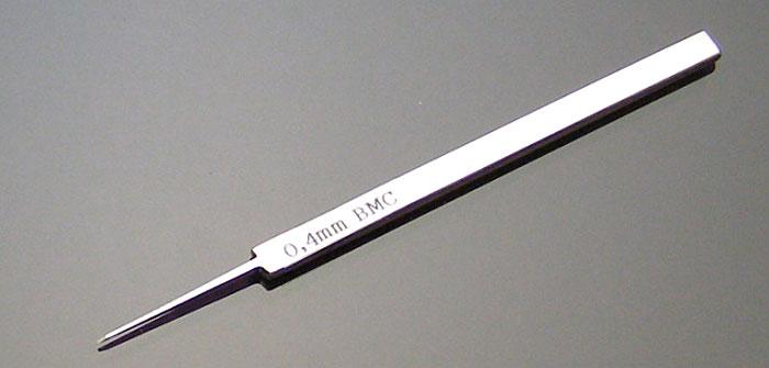 BMCタガネ 0.4mmタガネ(スジボリ堂BMCタガネNo.T-040N)商品画像_1