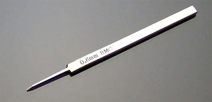 BMCタガネ 0.6mmタガネ(スジボリ堂BMCタガネNo.T-060N)商品画像_1