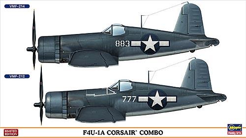 F4U-1A コルセア コンボプラモデル(ハセガワ1/72 飛行機 限定生産No.02032)商品画像