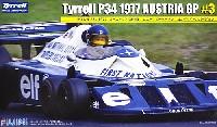 フジミ1/20 GPシリーズティレル P34 1977 オーストリアGP #3 ロニー・ピーターソン ロングホイールバージョン