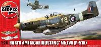 エアフィックス1/24 ミリタリーエアクラフトムスタング Mk.4A (P-51K ムスタング)