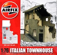 イタリアの街の家
