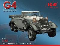 ICM1/24 カーモデルドイツ G4 高官用 6輪乗用車 ダイムラーベンツ社製 1935年型
