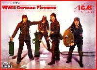 ICM1/35 ミリタリービークル・フィギュアドイツ 消防士 4体 1939-45年