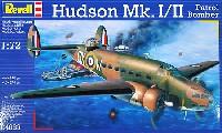 レベル1/72 飛行機ハドソン Mk.1/2