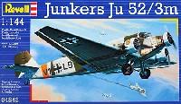 レベル1/144 飛行機ユンカース Ju52/3m
