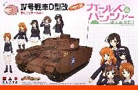 4号戦車 D型改 (H型仕様) あんこうチームver. (ガールズ&パンツァー)
