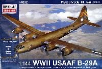 ミニクラフト1/144 軍用機プラスチックモデルキットアメリカ陸軍航空隊 B-29A