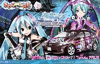 フジミきゃら de CAR~る (キャラデカール)初音ミク Project DIVA f (トヨタ プリウス)