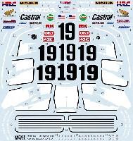 ホンダ NSR500 #19 1984 フルスポンサーデカール