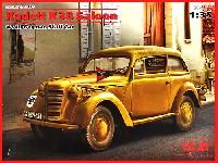 ICM1/35 ミリタリービークル・フィギュアドイツ カデット K38 小型サルーン 2ドアスタッフカー