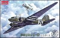 ローデン1/144 エアクラフトダグラス C-47 スカイトレーン 輸送機
