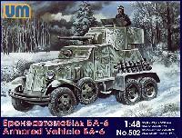 ロシア BA-6 装甲車 (6輪45mm砲)