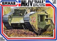 イギリス Mk.4 菱形戦車 雄型 6ポンド砲搭載