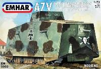 ドイツ A7V 突撃戦車