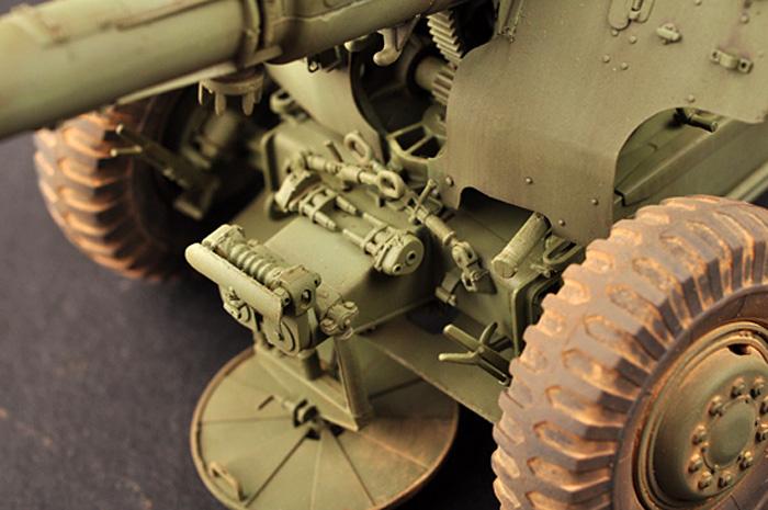 ソビエト D-20 152mm 榴弾砲プラモデル(トランペッター1/35 AFVシリーズNo.02333)商品画像_4