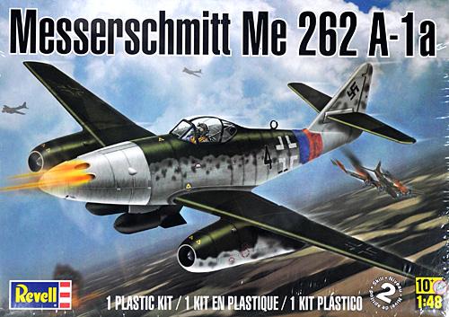 メッサーシュミット Me262A-1aプラモデル(レベル1/48 飛行機モデルNo.85-5322)商品画像