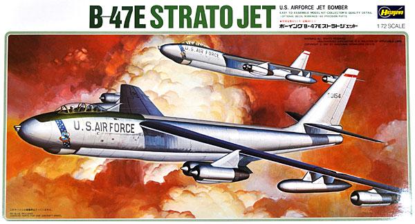 ボーイング B-47E ストラトジェットプラモデル(ハセガワ1/72 飛行機 KシリーズNo.K007)商品画像