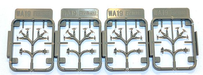 20mm 単装 & 1.1インチ 四連装 (WW2連合軍/戦後外国艦/海上自衛隊創設期)プラモデル(ファインモールド1/700 ナノ・ドレッド シリーズNo.WA019)商品画像_2