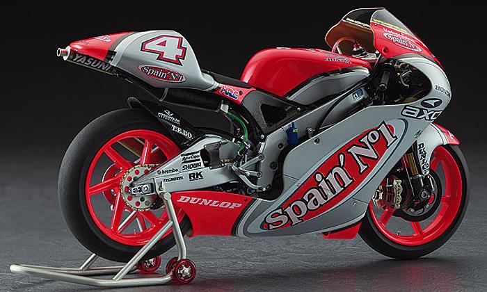 ホンダ NSR250 チーム スペインズ No.1 ホンダ グレッシーニ (2002 WGP250)プラモデル(ハセガワ1/12 バイクシリーズNo.21706)商品画像_3