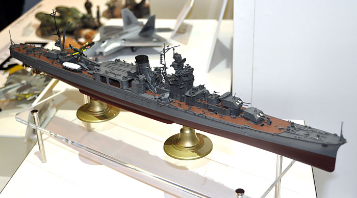 日本海軍 軽巡洋艦 能代 レイテ沖海戦プラモデル(ハセガワ1/350 Z帯No.40084)商品画像_3