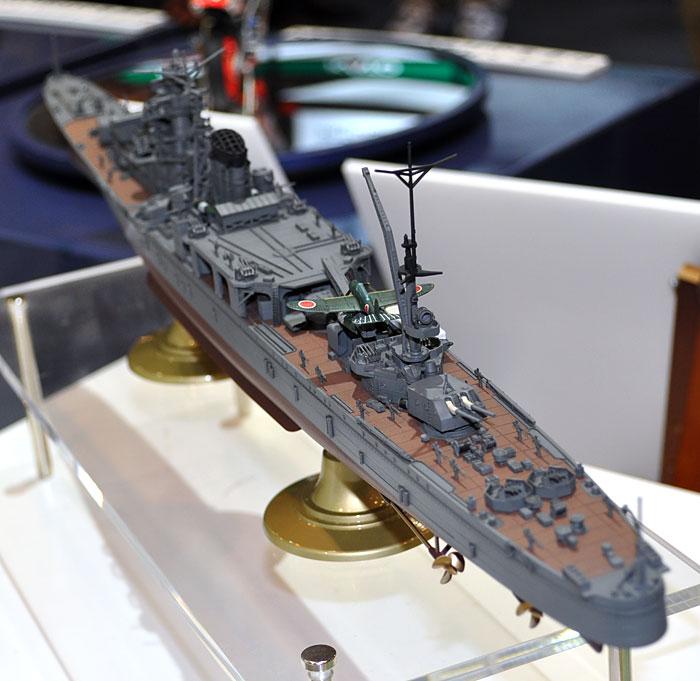 日本海軍 軽巡洋艦 能代 レイテ沖海戦プラモデル(ハセガワ1/350 Z帯No.40084)商品画像_4