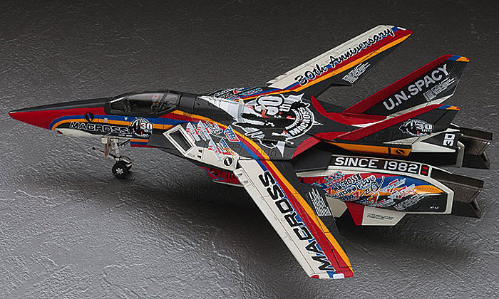 VF-1J バルキリー マクロス30周年塗装機プラモデル(ハセガワ1/72 マクロスシリーズNo.65823)商品画像_2