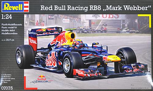 レッドブル レーシング RB8 マーク・ウェバープラモデル(レベル1/24 F1モデルNo.07075)商品画像