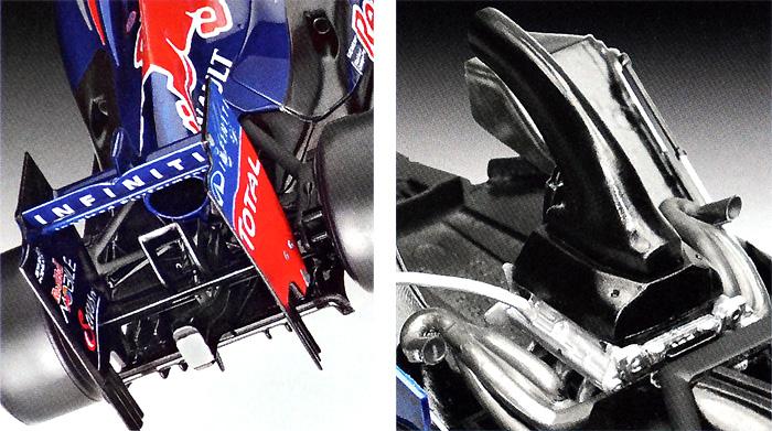 レッドブル レーシング RB8 マーク・ウェバープラモデル(レベル1/24 F1モデルNo.07075)商品画像_3