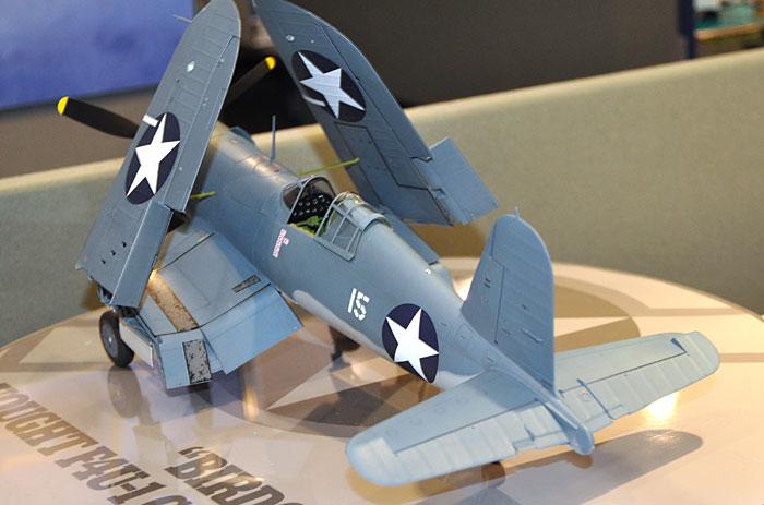 ヴォート F4U-1 コルセア バードケージプラモデル(タミヤ1/32 エアークラフトシリーズNo.024)商品画像_3
