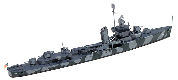 アメリカ海軍 駆逐艦 DD412 ハムマンプラモデル(タミヤ1/700 ウォーターラインシリーズNo.911)商品画像_4