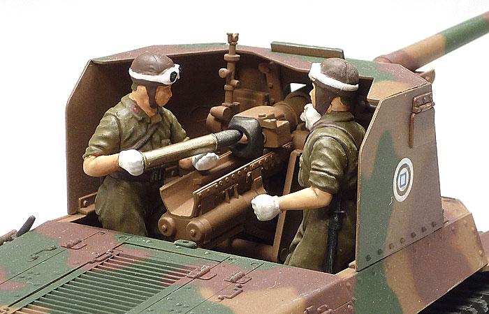 日本陸軍 一式砲戦車 (人形6体付き)プラモデル(タミヤ1/35 ミリタリーミニチュアシリーズNo.331)商品画像_4