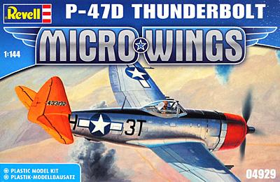P-47D サンダーボルトプラモデル(レベルMicro WingsNo.04929)商品画像