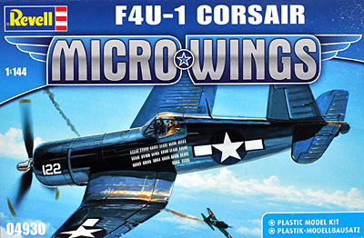 F4U-1 コルセアプラモデル(レベルMicro WingsNo.04930)商品画像