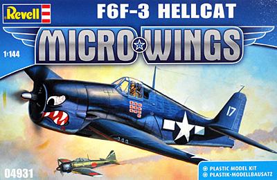 F6F-3 ヘルキャットプラモデル(レベルMicro WingsNo.04931)商品画像
