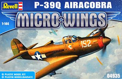 P-39Q エアラコブラプラモデル(レベルMicro WingsNo.04935)商品画像