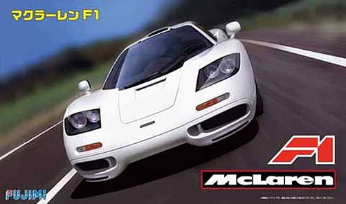 マクラーレン F1プラモデル(フジミ1/24 リアルスポーツカー シリーズNo.066)商品画像