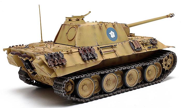 ドイツ戦車 パンサーAプラモデル(タミヤ1/25 戦車シリーズNo.30612)商品画像_3