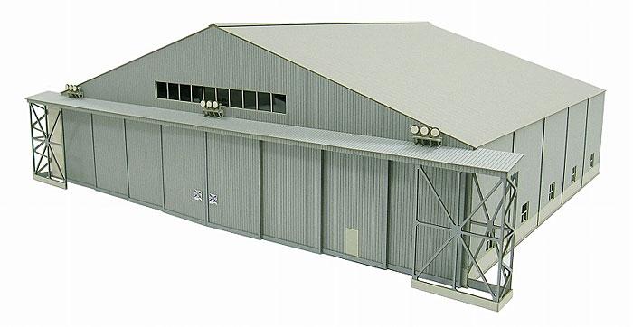 機体整備格納庫ペーパークラフト(さんけい航空情景シリーズNo.MK08-007)商品画像_2