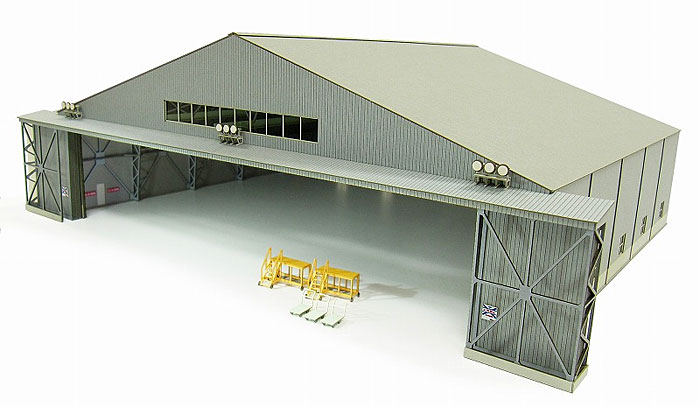 機体整備格納庫ペーパークラフト(さんけい航空情景シリーズNo.MK08-007)商品画像_3